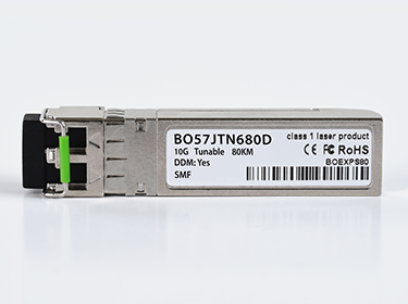 BlueOptics© Tunable 10G 50GHz DWDM SFP+ Transceiver