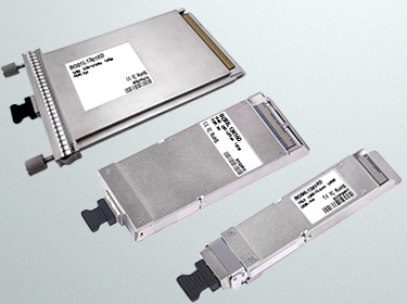 BlueOptics Optical Transceiver Form Factors at a Glance