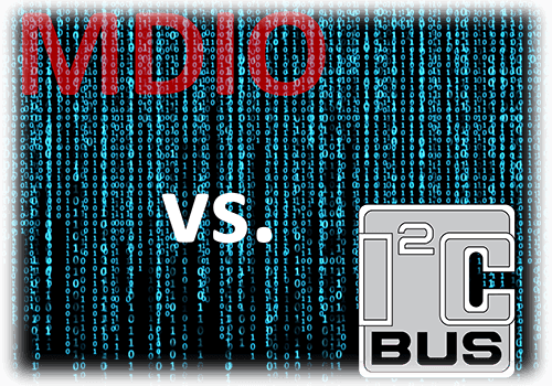 MDIO Managment Data Input/Output vs I2C Interface