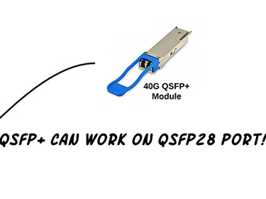 Can We Use the QSFP Optics with QSFP28 Ports?