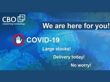 COVID19 Status: CBO is fully operational, shipping products daily & serving the healthcare sector on priority!