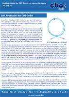 LWL Patchkabel der CBO GmbH aus eigener Fertigung