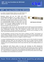 QSFP - Der neue Formfaktor der CBO GmbH