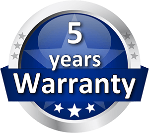 5 Years Warranty for BlueLAN