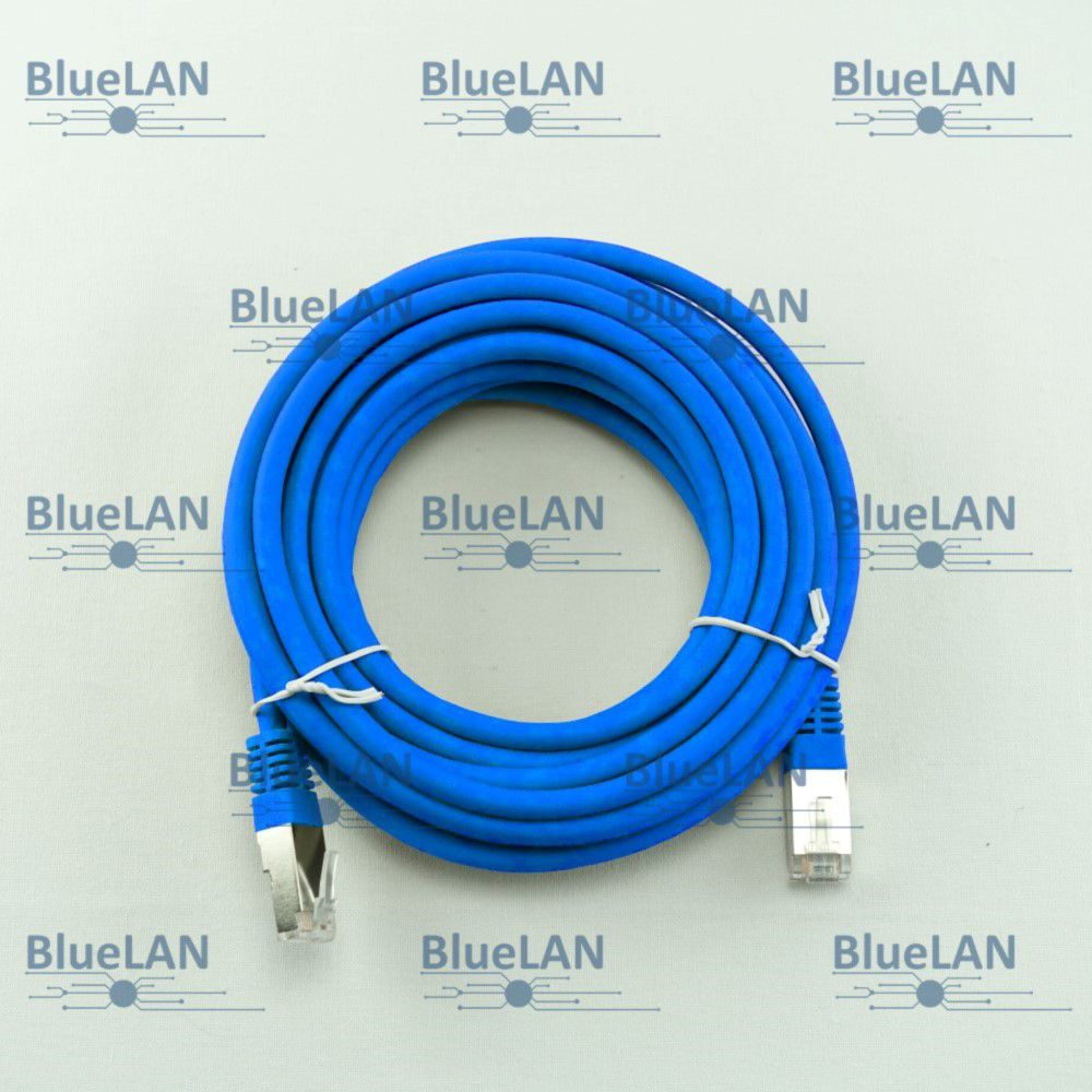 SCP33SFUR1B6XM BlueLAN cat5e sf utp twisted pair tp rj45 patchkabel lszh blau