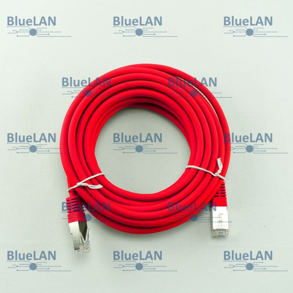 SCP33SFUR1R6XM BlueLAN cat5e sf utp twisted pair tp rj45 patchkabel lszh rot