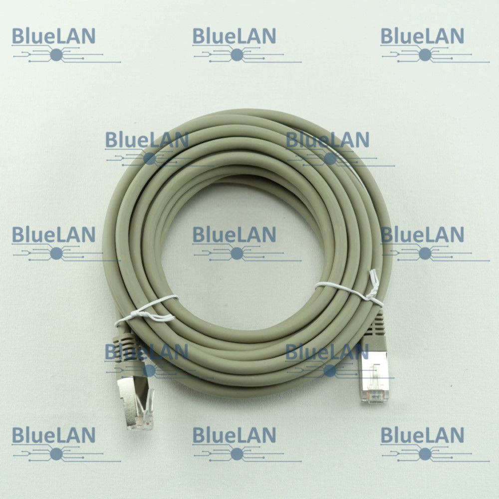 SCP33SSR1G8XM BlueLAN cat6a s ftp twisted pair tp rj45 patchkabel lszh grau