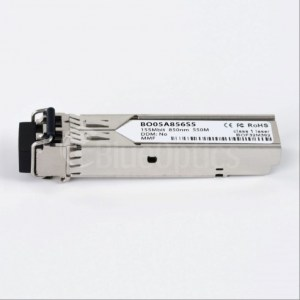 BO05A856S5 - BlueOptics© SFP 100BASE-SX, 850nm, 550M, Transceiver