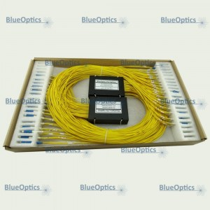 BOSPP2xNLPLPA BlueOptics PLC Splitter 2xN Singlemode ABS Box SC in LC out