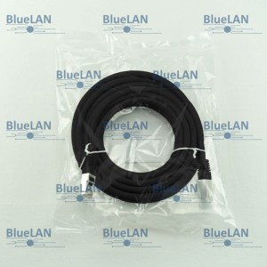 SCP33SFR1K7XM BlueLAN cat6 s ftp twisted pair tp rj45 patchkabel lszh black