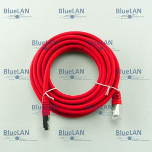 SCP33SFR1R7XM BlueLAN cat6 s ftp twisted pair tp rj45 patchkabel lszh rot