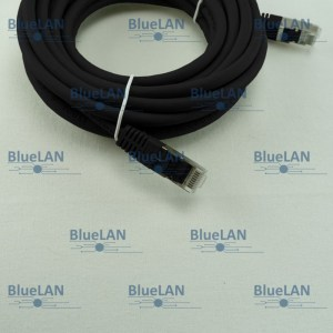 SCP33SFUR1K6XM BlueLAN cat5e sf utp twisted pair tp rj45 patchkabel lszh schwarz