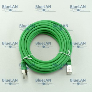 SCP33SFUR1N6XM BlueLAN cat5e sf utp twisted pair tp rj45 patchkabel lszh gruen