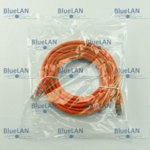 SCP33SFUR1O6XM BlueLAN cat5e sf utp twisted pair tp rj45 patchkabel lszh orange
