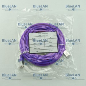 SCP33SFUR1P6XM BlueLAN cat5e sf utp twisted pair tp rj45 patchkabel lszh purple