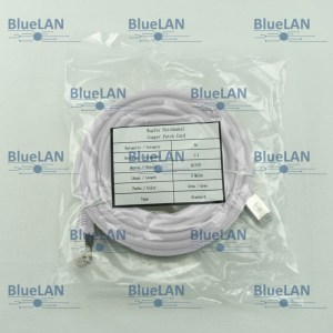 SCP33SFUR1W6XM BlueLAN cat5e sf utp twisted pair tp rj45 patchkabel lszh weiss