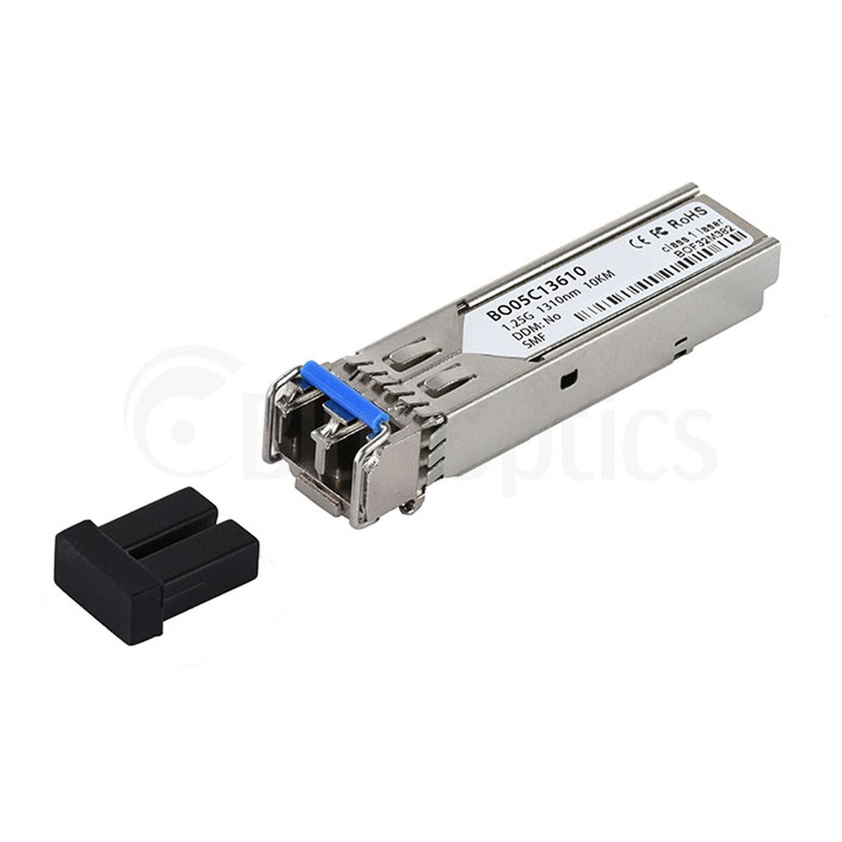 Communication Equipments Fiber Optic Equipments Teg-mgbs10 Compatible 1000base-lx Sfp 1310nm 10km Dom Transceiver