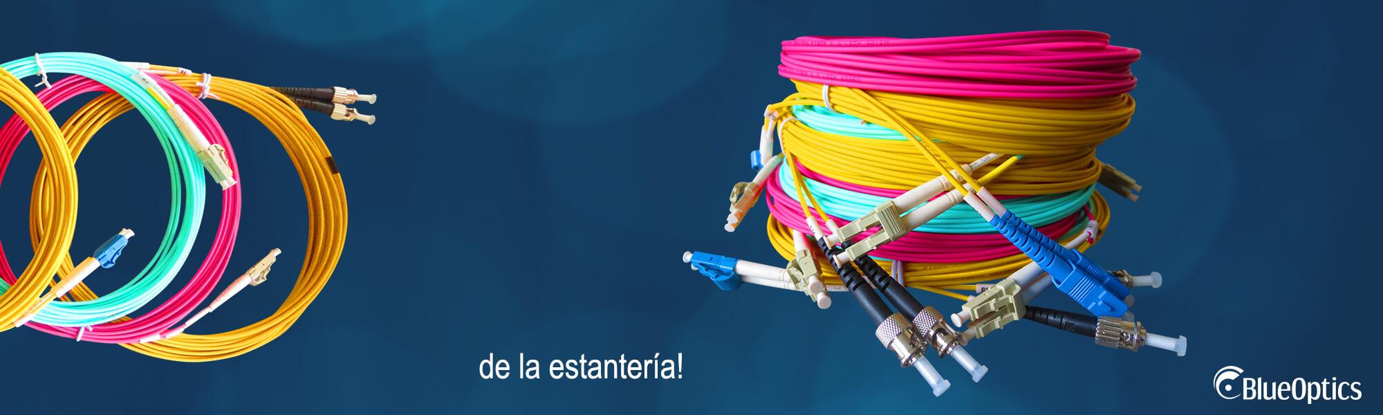 Cordones de fibra BlueOptics